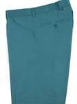"Teal ""Bellingham"" Flat Front Short 