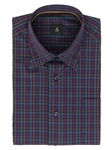 Robert Talbott Violet with Check Design Classic Fit Anderson Sport Shirt LUM35083-01 - Spring 2016 Collection Sport Shirts | Sam's Tailoring Fine Men's Clothing