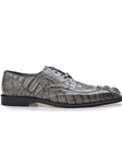 Grey Hornback Crocodile Chapo Shoe | Belvedere Fall 2016 Collection | Sams Tailoring