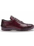 Dark Burgundy Genuine Ostrich Paulo Shoe | Belvedere Fall 2016 Collection | Sams Tailoring
