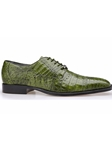Emerald Green Genuine Crocodile Marcello Shoe | Belvedere Fall 2016 Collection | Sams Tailoring