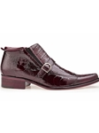 Antique Dark Burgundy Matteo Boot | Belvedere Fall 2016 Collection | Sams Tailoring