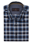 Robert Talbott Multi-Colored Plaid Check Design Crespi III Sport Shirt TSM35052-01 - Spring 2016 Collection Sport Shirts | Sam's Tailoring Fine Men's Clothing