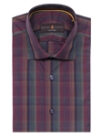 Robert Talbott Multi-Colored Plaid Check Design Crespi III Sport Shirt TSM35111-01 - Spring 2016 Collection Sport Shirts | Sam's Tailoring Fine Men's Clothing
