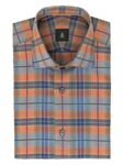 Robert Talbott Multi-Colored Plaid Check Design Crespi III Sport Shirt TSM35092-01 - Spring 2016 Collection Sport Shirts | Sam's Tailoring Fine Men's Clothing