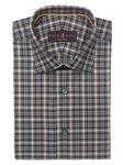 Robert Talbott Multi-Colored Plaid Check Design Crespi III Sport Shirt TSM35065-01 - Spring 2016 Collection Sport Shirts | Sam's Tailoring Fine Men's Clothing