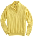 Bobby Jones Canary Merino Quarter-Zip Wind Sweater BJL47003 - Fall 2016 Collection Sweaters | Sam's Tailoring Fine Men's Clothing