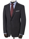"Hickey Freeman Charcoal Stripe Super 170's ""Wish"" Suit 55302502B003 - Suits 