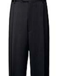 Hart Schaffner Marx Gabardine Charcoal Pleated Trouser 409-455203 - Trousers | Sam's Tailoring Fine Men's Clothing