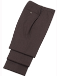 Burgundy Textured Traditional Fit Fall Trouser | Hickey FreeMan Traveler Suits | Sams Tailoring