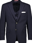 Navy Hopsack Classic Fit Tropical Wool Blazer  | Hardwick Fall 2016 collection | Sam's Tailoring