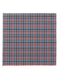 Multi-Color Check Pocket Square 13"
