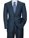 Hart Schaffner Marx Gold Navy Plaid Suit 165-423995054 - Suits | Sam's Tailoring Fine Men's Clothing