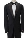 Hart Schaffner Marx Gold Trumpeter Black Tuxedo 188-750253 - Formal Wear | Sam's Tailoring Fine Men's Clothing