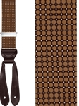 Brown Glaston Silk Formal Brace | Trafalgar Belt Collection 2016 | Sams Talioring