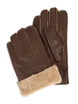 Suede Castano Sheepskin Men Glove | Aston Leather Fall 2016 Collection | Sam's Tailoring