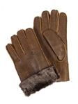 Ruggged Whiskey Sheepskin Men Glove | Aston Leather Fall 2016 Collection | Sam's Tailoring