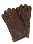 Rugged Castano Sheepskin Top Stitched Men Gloves | Aston Leather Fall 2016 Collection | Sam's Tailoring