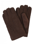 Sude Brown Sheepskin Top Stitched Men Gloves | Aston Leather Fall 2016 Collection | Sam's Tailoring