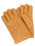 Sude Sahara Tan Sheepskin Top Stitched Men Gloves | Aston Leather Fall 2016 Collection | Sam's Tailoring