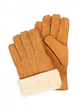 Suede Gold Finish Sheepskin Men Glove | Aston Leather Fall 2016 Collection | Sam's Tailoring