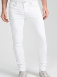 White Over Dye Dean Skinny Pant | Eight Field of Freedom collection 2016 | Sam's Tailoring