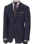 Navy Notch Lapel Cashmere Blazer | Hickey Freeman Cashmere Collection | Sam's Tailoring