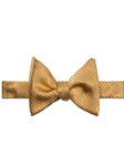Gold Tonal Spanish Bay Solid Bow Tie | Robert Talbott Formal Wear   | Sam's Tailoring
