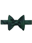 Green Small Neat Spanish Bay Solid Bow Tie | Robert Talbott Formal Wear   | Sam's Tailoring