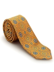 Yellow, Orange, and Blue Medallion Welch Margetson Best of Class Tie | Robert Talbott Spring 2017 Collection | Sam's Tailoring