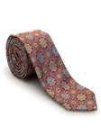 Red, Yellow, and Blue Medallion Welch Margetson Best of Class Tie  | Robert Talbott Spring 2017 Collection | Sam's Tailoring
