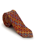 Red with Multi-Colored Circles Welch Margetson Best of Class Tie  | Robert Talbott Spring 2017 Collection | Sam's Tailoring