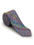 Blue with Multi-Colored Circles Welch Margetson Best of Class Tie | Robert Talbott Spring 2017 Collection | Sam's Tailoring