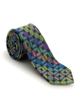 Black with Multi-Colored Circles Welch Margetson Best of Class Tie | Robert Talbott Spring 2017 Collection | Sam's Tailoring