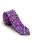 Pink Lavender Geometric Welch Margetson Best of Class Tie | Robert Talbott Spring 2017 Collection | Sam's Tailoring