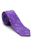 Purple Geometric Welch Margetson Best of Class Tie  | Robert Talbott Spring 2017 Collection | Sam's Tailoring