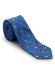 Blue Geometric Welch Margetson Best of Class Tie  | Robert Talbott Spring 2017 Collection | Sam's Tailoring