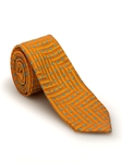 Orange with Blue Paisley Welch Margetson Best of Class Tie | Robert Talbott Spring 2017 Collection | Sam's Tailoring