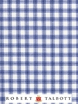 Blue, White & Navy Check Custom Shirt  | Robert Talbott Custom Shirts  | Sam's Tailoring