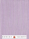 Lavender and White Fine Line Stripe Custom Shirt | Robert Talbott Custom Shirts  | Sam's Tailoring