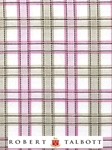 Pink, Tan and White Plaid Custom Shirt | Robert Talbott Custom Shirts  | Sam's Tailoring