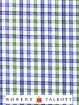 Celery, Blue, Sky & White Check Custom Shirt | Robert Talbott Custom Shirts  | Sam's Tailoring