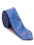 Blue and Brown Paisley Heritage Best of Class Tie | Robert Talbott Spring 2017 Ties Collection | Sam's Tailoring