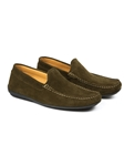 Green Austin Heller Crosby Suede Loafer  | Bobby Jones Spring 2017  Collection | Sams Tailoring