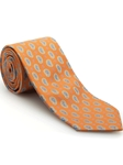 Orange, Light Mint, Lavender & Blue Paisley Venture Best of Class Tie | Robert Talbott Spring 2017 Collection | Sam's Tailoring