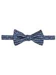 Blue and Grey Geometric Best of Class Bow Tie | Robert Talbott Spring 2017 Collection  | Sam's Tailoring
