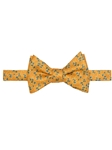 Orange, Yellow and Blue Carmel Print Best of Class Bow Tie | Robert Talbott Spring 2017 Collection  | Sam's Tailoring