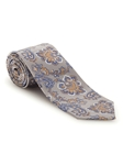 Grey and Blue Paisley Best of Class FIH Tie | Robert Talbott Spring 2017 Collection | Sam's Tailoring
