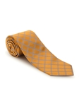Yellow With Sky Diamond Design Best of Class FIH Tie | Robert Talbott Spring 2017 Collection | Sam's Tailoring