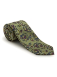 Green Floral Design Best of Class FIH Tie | Robert Talbott Spring 2017 Collection | Sam's Tailoring